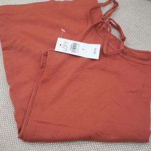 Burnt orange brand new cami from Loft